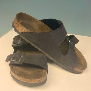 BIRKENSTOCK Microfibre Anthracite Classic Sandal
